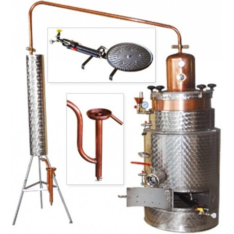 distilling unit SUPER 125 butane/propane