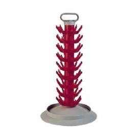 Stationary bottle drainer (for 81 bottle)
