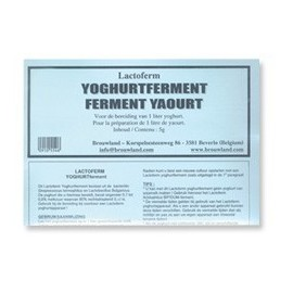 Jogurto kultūra LACTOFERM 5 g