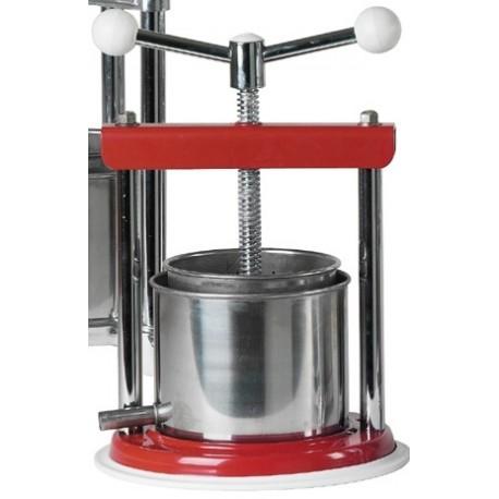 Alunumium / Stainless steel press 1,3 L (?12cm)