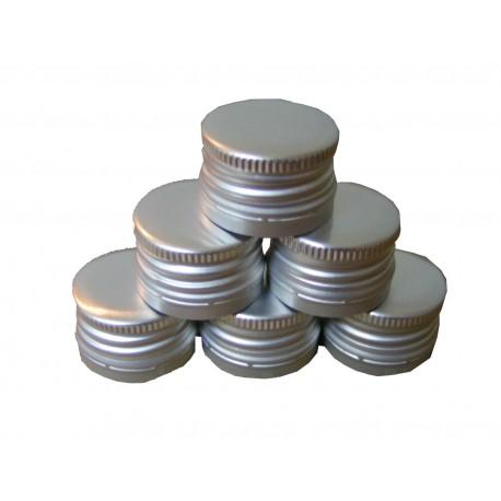 Skruvejamais padengti pudelem sidabro 8 vnt.