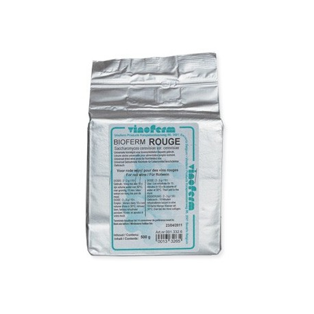 Dried yeast BIOFERM ROUGE 500 gr/2-3 g/10 litres