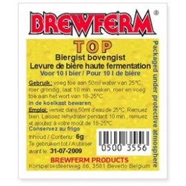 Sausais alus raugs BREWFERM TOP 6 gr
