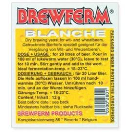 Õlle pärmi BREWFERM BLANCHE on 12-gr.