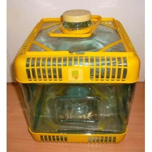 Stikla balons 10L (kantains) ar šauru