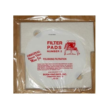 filter pads Mini Jet POLISH 3pc
