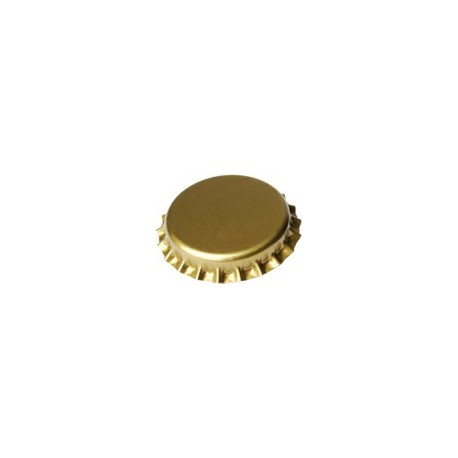 crown corks 29mm GOLD 100 pcs