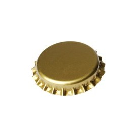 crown corks 29mm GOLD 1000 pcs