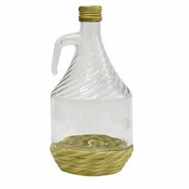 Pudele vīnam ar pinumu 1L