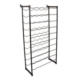 MODULAR metal rack for bottles