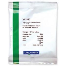 Jogurtas kultūros CL 250 l pieno,