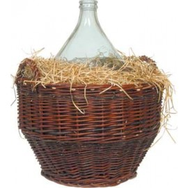 Demijohns with wicker basket 10L