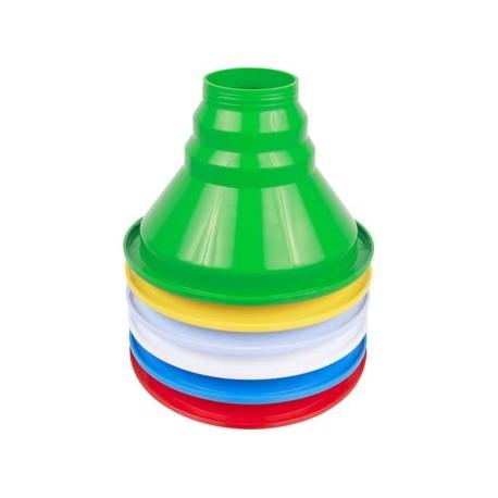 Plastmasas piltuve burkām