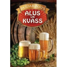 Selfmade beer and kvass (latvian laguage)
