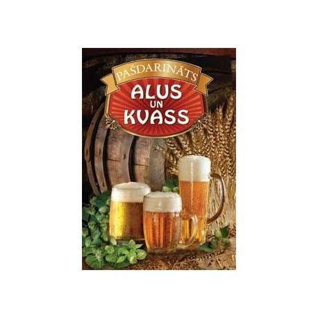 Selfmade beer and kvass (latvian laguage)