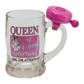 """Krūze ar zvanu """"Queen"""" 350ml"""