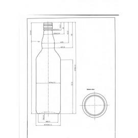 700 ml BB-700/2 (1398 pcs.)
