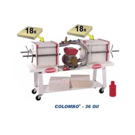 Colombo 36 Oil - automātisks presfiltrs