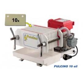 Pulcino 10 Aliejus - automatinis presfiltrs
