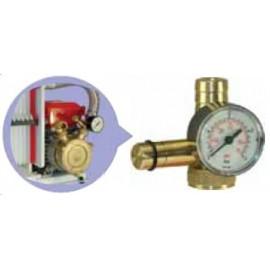 Spiediena regulēšana, aizsārņojuma indikators