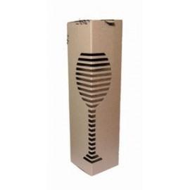 Картонная коробка для винной бутылки (0,75л)