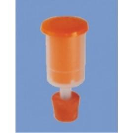 Hidroaizvars ar korķi plastmasas mucām