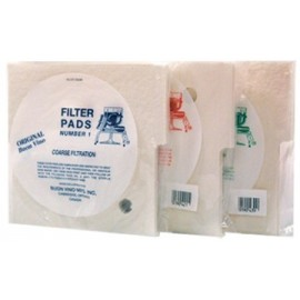 Filter pads STERILE for Superjet (3 pcs.)