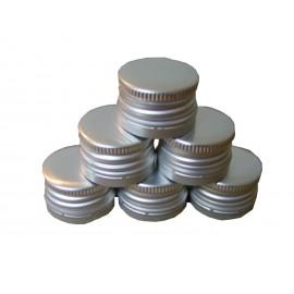 Skrūvējamie dangteliai, butelių Ø28mm (100 gb.)