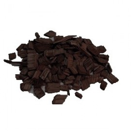 French Oak chips 1kg (Heavy Toast, medium size)