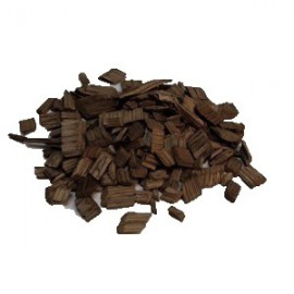 American Oak chips 1kg (Medium Toast, medium size)