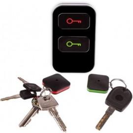 Klavišas paieškos rinkinys (1 siųstuvas ir 2 imtuvai - raktų pakabukai)