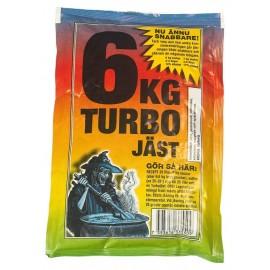 Turbo yeast 6 JAST (5pcs.)