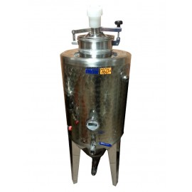 Closed tank for beverage fermentation 120L