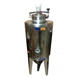 Closed tank for beverage fermentation 120L