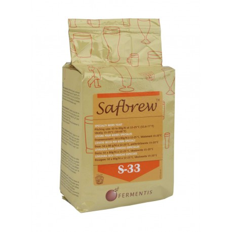 Dried brewing yeast SAFBREW S-33 500g