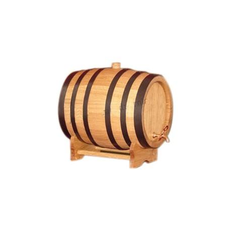 Oak barrel (150L) with crane