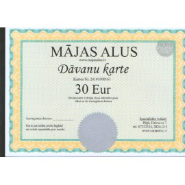 Gift cart for 30 EUR