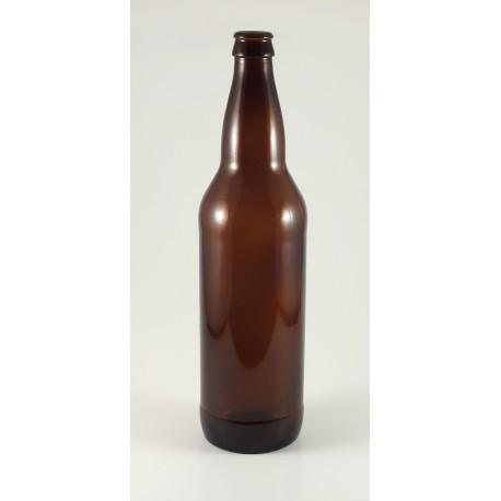 Rudo stiklo alaus butelis 0,5 L (48 gb.)