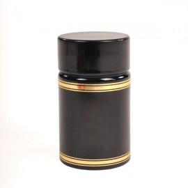 Пластиковый колпачок с дозатором и крышкой (черный)