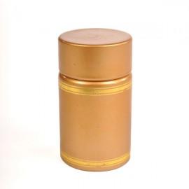 Пластиковый колпачок с дозатором и крышкой (золотой)