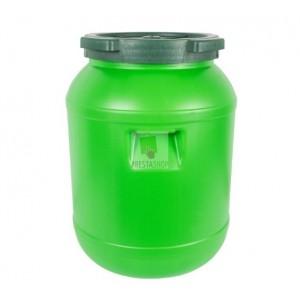 Plastmasas muca (zaļa) sālīšanai 30L