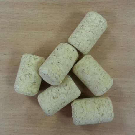 Agglomerated wine corks Ø38/23,5mm, with a drawing (100 pcs.)