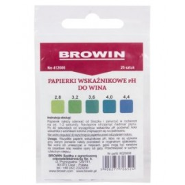 Wine and beer pH Indicator Strips