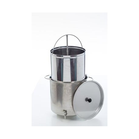 Brewing kettle with filter 50L