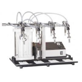 Profesionālā vakuuma pildīšanas iekārta Enolmaster priekš 4 pudelēm