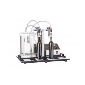 Filler with 2 stainless steel filling nozzles Enolmaster 2