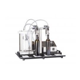 Profesionalus vakuuminis pildymo vienetas Enolmaster 2 buteliai