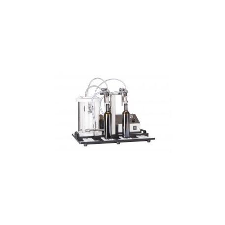 Profesionālā vakuuma pildīšanas iekārta Enolmaster priekš 2 pudelēm