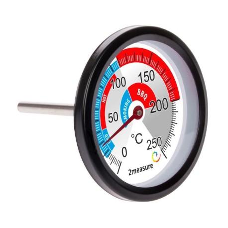 Termometrs priekš kūpinātavas, no 0°C līdz +250°C