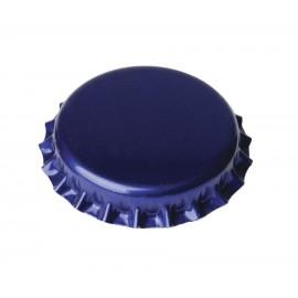 Metāla korķi alus pudelēm Ø26mm, 100gb. (zili)